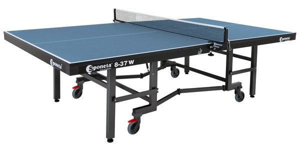 Sponeta Super Compact, 8-37 W Indoor Table Tennis Table