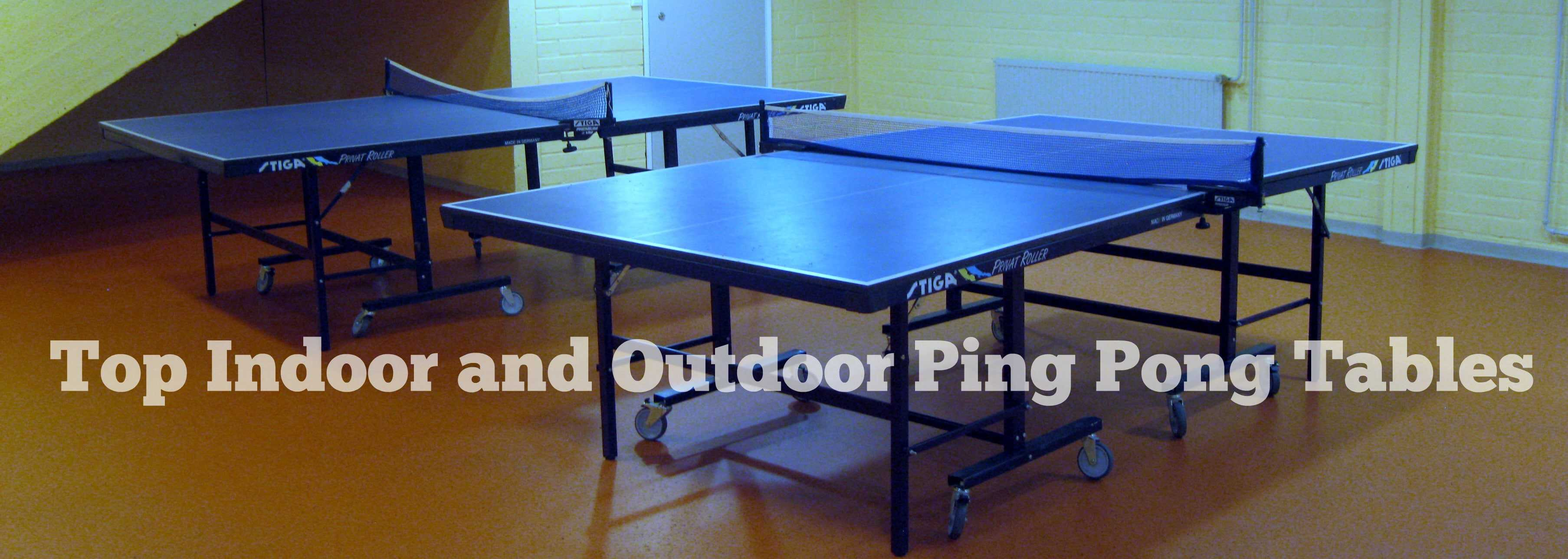 Best Table tennis tables review